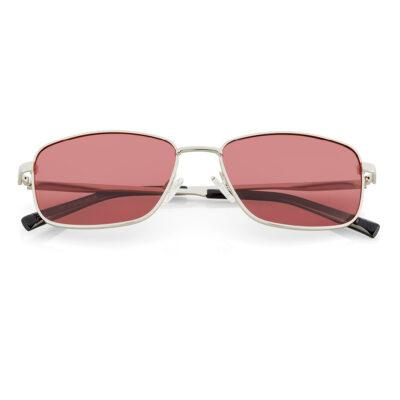 Haus Berlinger Herren Sonnenbrille rot
